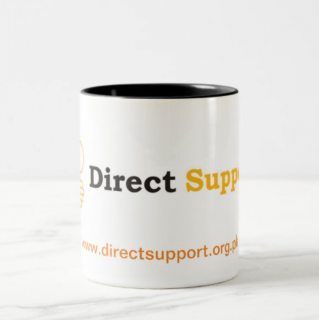 Mug Direct Support Log Printed Picture
